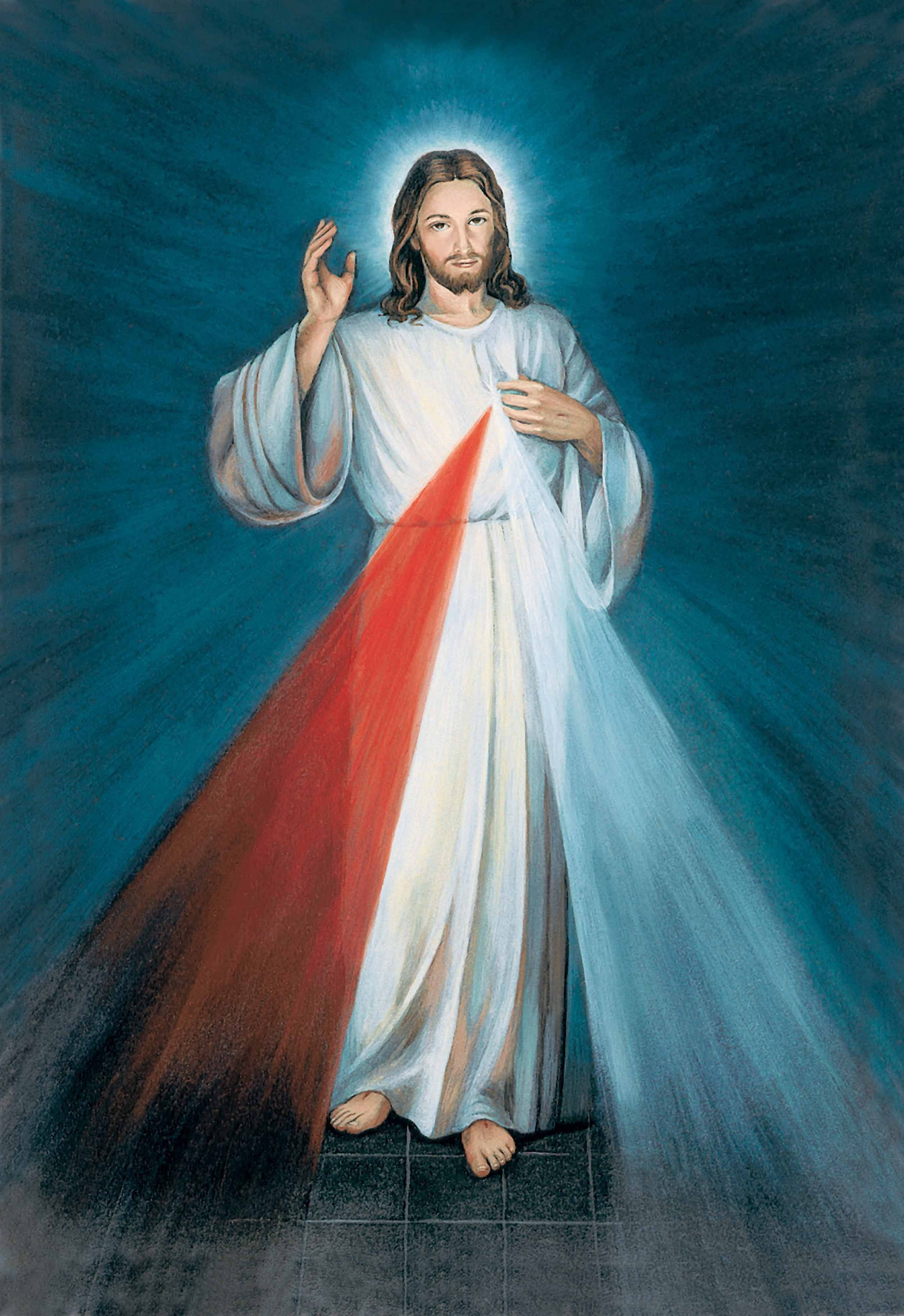 Jesus Divine Mercy image