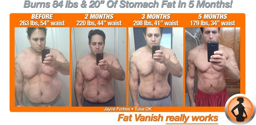 J Forbes 84 lbs fat burning success story