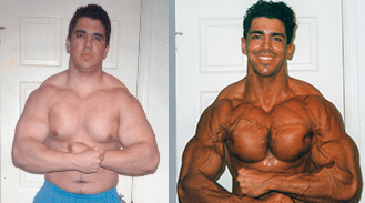 Francesco's natural weight loss photo
