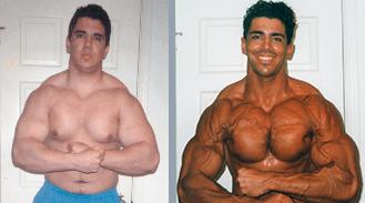 Francesco's natural weight loss photo
